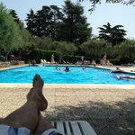 Ett fint poolområde