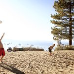 Volleyball on the Beach at Tahoe South