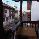 Balcón del desayunador