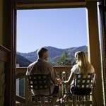 Soak in the breathtaking views of Squaw Valley's mountain peaks