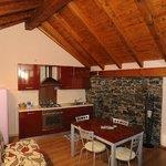 salone e cucina attico margherita