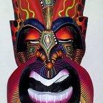 Diablito Borucan Mask