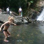 base of mina falls