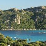 Ausblick Baie de Santa Giulia