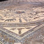 a restored mosaic floor