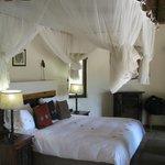 Bedroom in the Zulu Suite