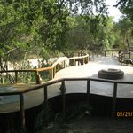 Boma area overlooking the river