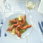 Fabulous Grilled Prawns from A La Carte Menu