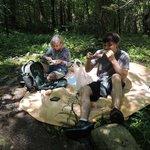 picnic along the banks