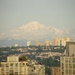 Awesome Mount Baker from Suite 2201!