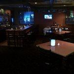 Lounge Area after dark
