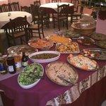 Vorspeisen- und Salatbuffet: war sehr gut und weit mehr als mit was wir gerechnet hätten
