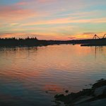 Sunset on Webb Cove