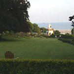 View of the English Channel from the Manoir