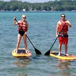 Come and enjoy our paddle boards