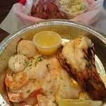 broiled seafood combo 2