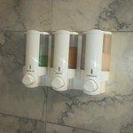 bathroom soaps dispenser