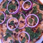 Cranberry spinach feta cheese red onions