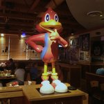 The Red Robin is exceptionally cute...