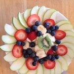 Yogurt-Granola-Fruit Plate