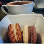 French Macarons and a Latte!
