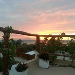 atardecer en la terraza/sunset on the roof