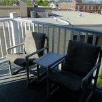 Silver Suite private balcony