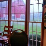 Breakfast area view
