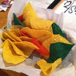 colorful chips
