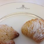 Hassler breakfast pastries - sgogliatelle