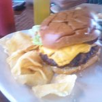 Yummy Burger(I took off a few toppings)