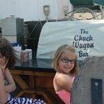 Chuck wagon area