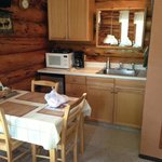 Kitchen with breakfast included