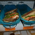 These sandwiches were pre-made