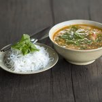 Tangy fish soup