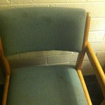 chair is dirty and filthy. I could not even sit in them, disgusting!!