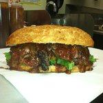 Beef Tri-Tip Sandwich