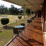 Golf side decking