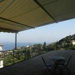 the balcony itself