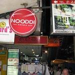 Eingang Nooddi Restaurant
