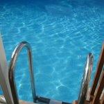 Swim up view