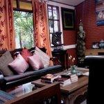 Relaxing room.