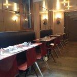 L'intérieur du restaurant Saint Germain
