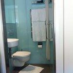bathroom of superior twin
