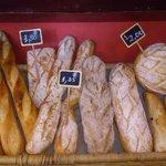 Fresh daily baked bread