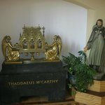 A reliquary of Blessed Thaddeus McCarthy