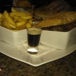 Beef and Guiness pie - 8.60 euros