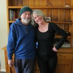Hosts, John and Carol