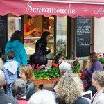 Inauguration Scaramouche, glacier artisanal à Céreste