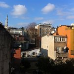 back veiw to sultanahmet area